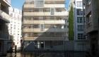 vue extérieure des logements collectifs