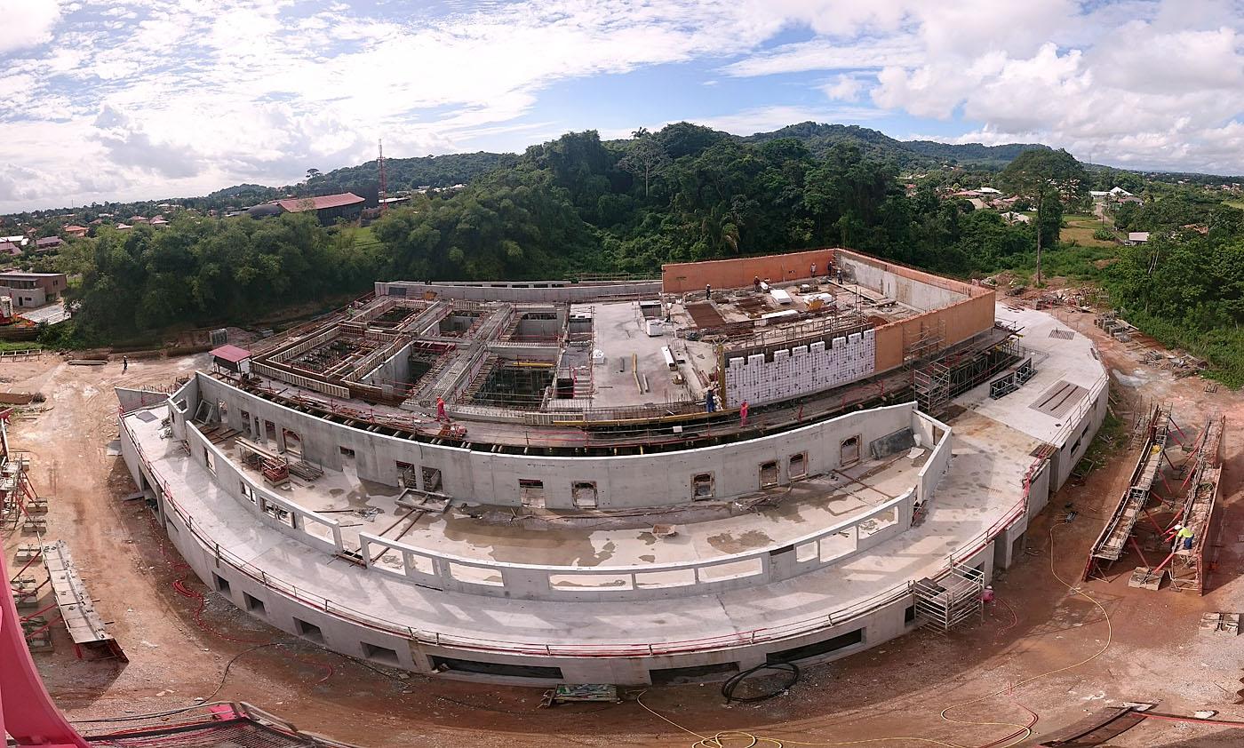 Mcmg photo de chantier 06 2016 d3 architectes for Chantier architecte