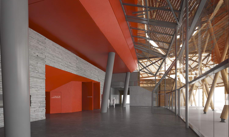 vue intérieur hall