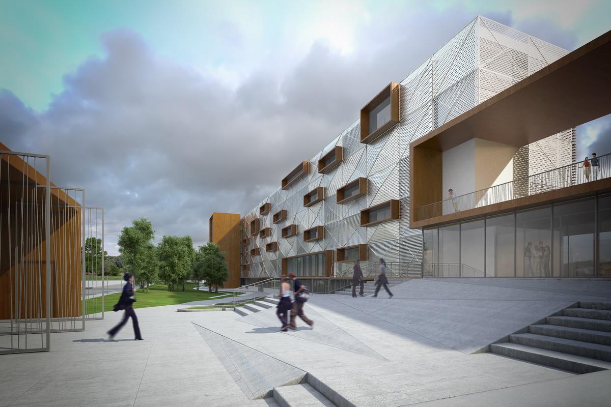 Lyc e de tarbes d3 architectes for Architecte tarbes
